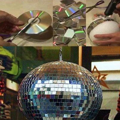Crea tu propia bola de disco just for mami for Crea tu propia cocina